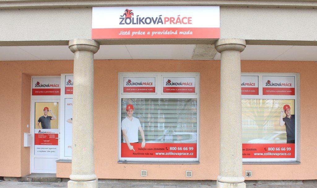Nové kanceláře Žolíková práce