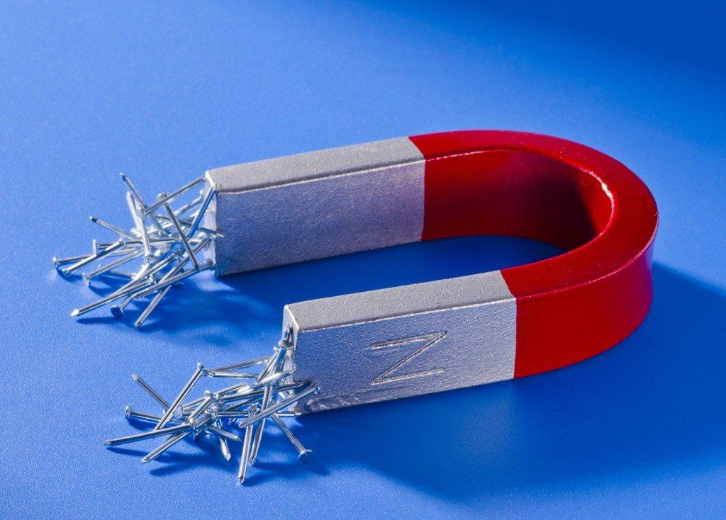 Montérky magnetů