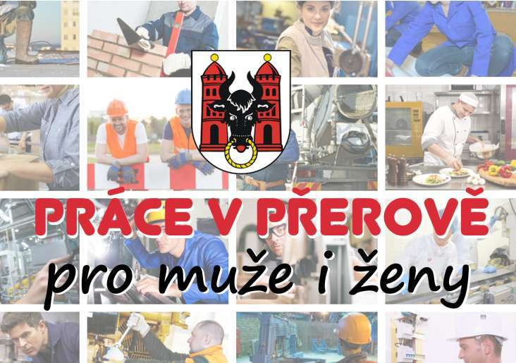 Práce - Volná místa v Přerově